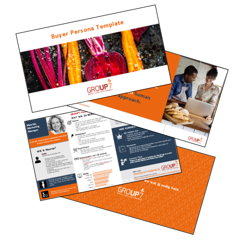 Buyer persona template | GROUP7