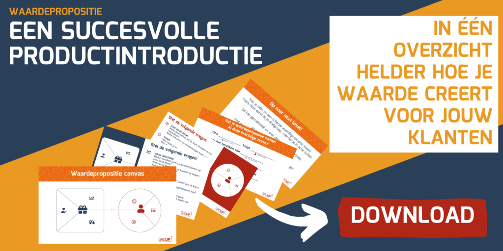 download waardepropositie canvas template GROUP7
