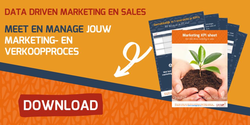 Marketing KPI Sheet GROUP7