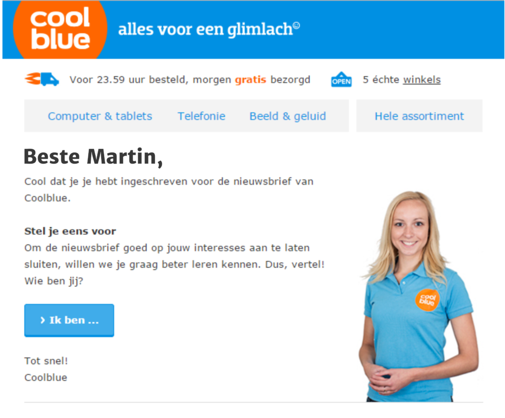 Marketing Automation Coolblue